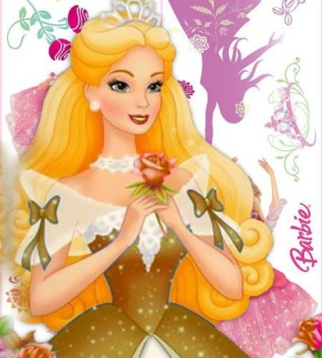 10 Hermosas carátulas para cuadernos de Barbie (13)