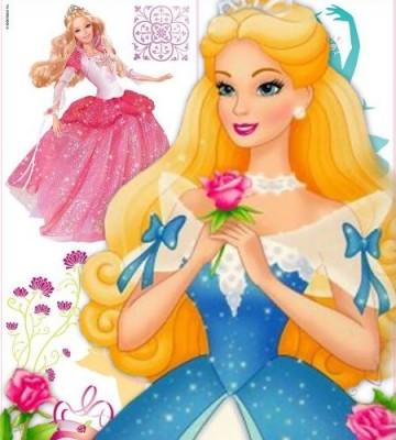 10 Hermosas carátulas para cuadernos de Barbie (9)