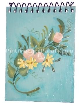 12 Hermosas catátulas para cuadernos en tonos rosas (8)
