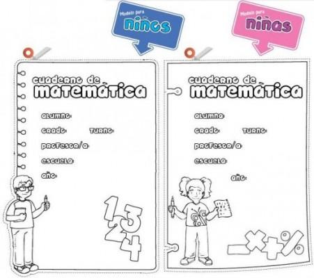 11 Bonitas carátulas para cuadernos de matemáticas (7)
