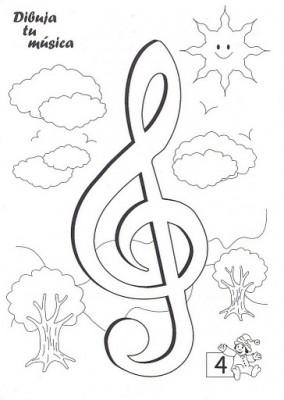 11 Bonitas carátulas para cuadernos de música (2)