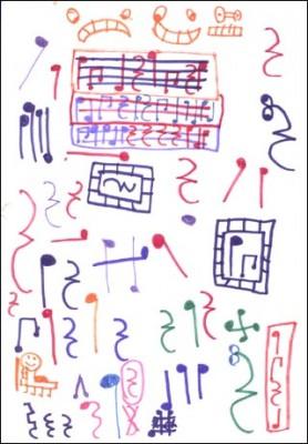 11 Bonitas carátulas para cuadernos de música (4)