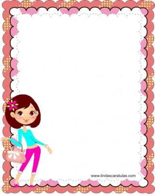 10 Carátulas para cuadernos de mujeres (7)