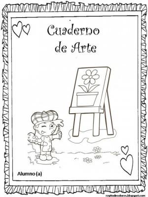 9 Carátulas para cuadernos pintados (4)