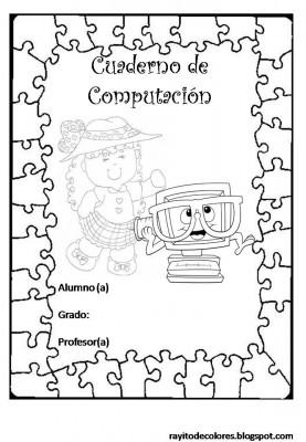 Caratulas para Cuadernos Escolares (1)