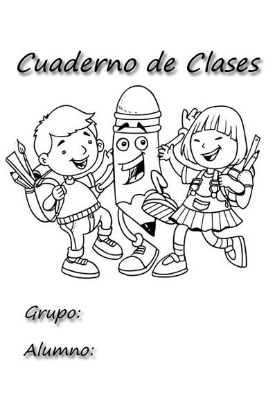 Faaqidaad Dibujos Para Caratulas De Cuadernos Escolares