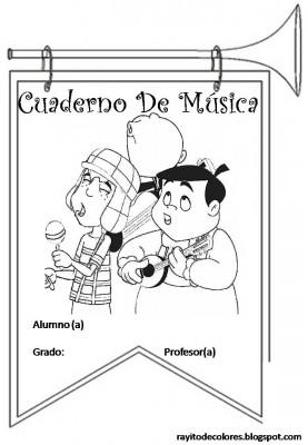 Caratulas para Cuadernos de Música (8)