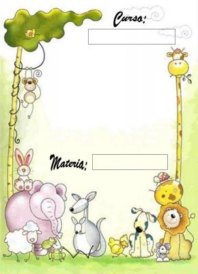 Caratulas para Cuadernos de Nivel Inicial (1)