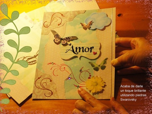 Caratulas para Cuadernos Romántico (2)