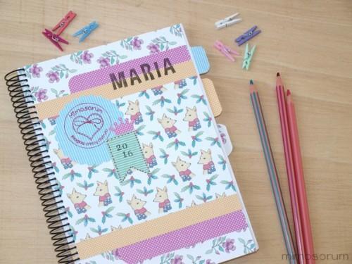 Caratulas para Cuadernos Hechas a Lápiz (8)