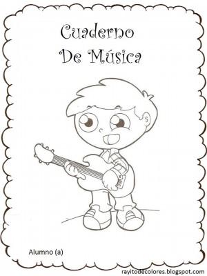 Caratulas para Cuadernos de Música (10)