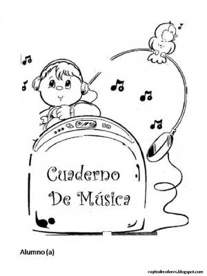 Caratulas para Cuadernos de Música (5)