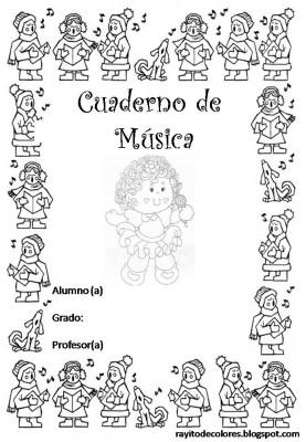 Caratulas para Cuadernos de Música (7)