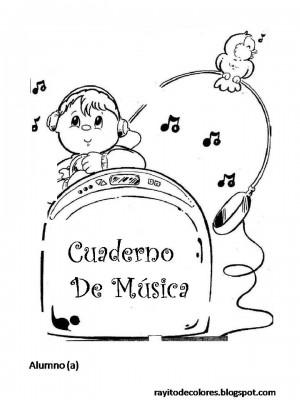 Caratulas para Cuadernos de Música (9)