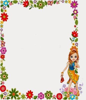 Caratulas para Cuadernos con Flores (13)