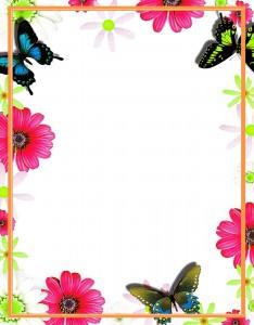 Caratulas para Cuadernos con Flores (14)