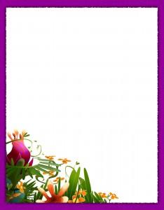 Caratulas para Cuadernos con Flores (16)