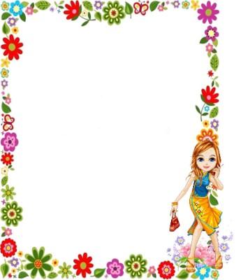 Caratulas para Cuadernos con Flores (5)