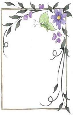 Caratulas para Cuadernos con Flores (8)
