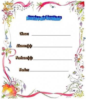 Caratulas para Cuadernos de Tareas (11)