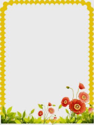 10 carátulas para cuadernos con flores (3)