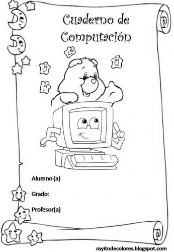 10 nuevas carátulas para cuadernos de niños (1)