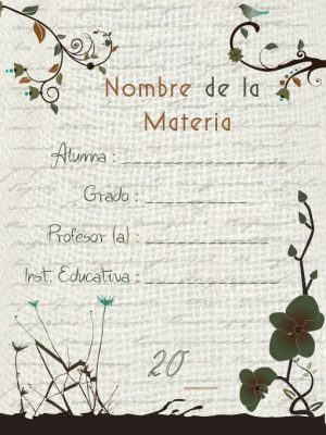 Caratulas para Cuadernos Creativas (10)