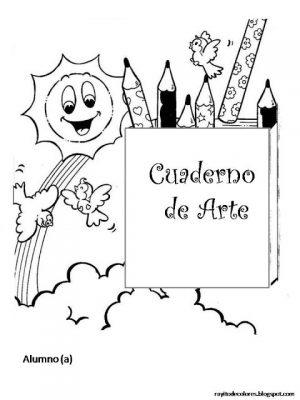 Caratulas para Cuadernos Creativas (54)