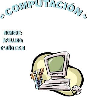 Caratulas para Cuadernos de Computación (2)
